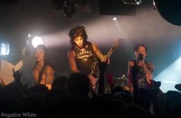 Die Black Veil Brides holten ihr Konzert nach (Sacha Saxer)