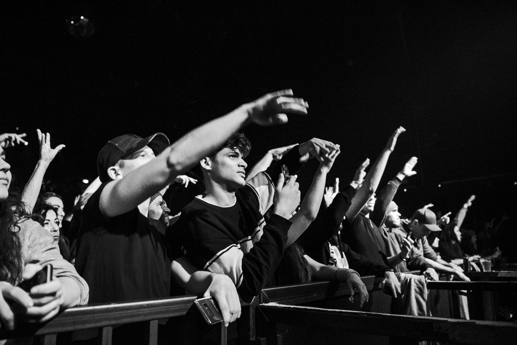 Das Publikum am ausverkauften Cypress Hill Konzert