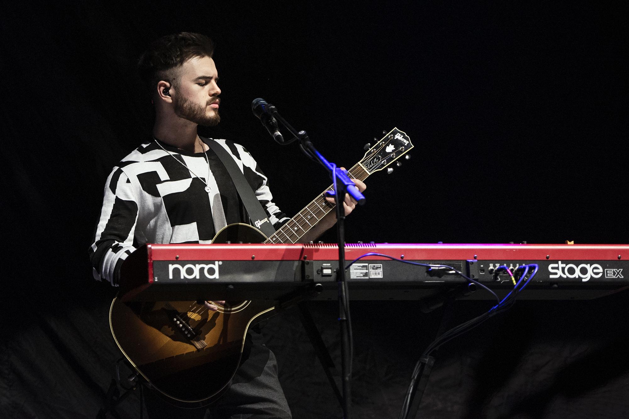 Gitarrist und Keyboarder von JC Stewart