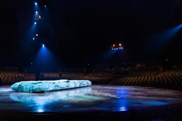 Leere Bühne, Cirque du Soleil