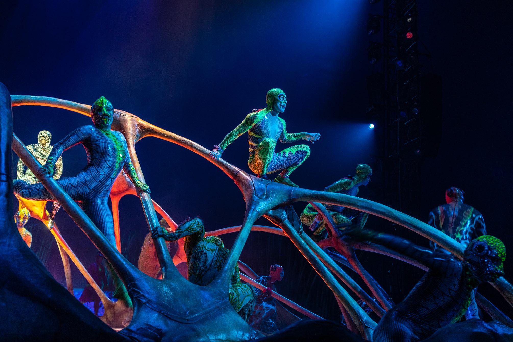 Cirque du Soleil – Premiere «Totem»