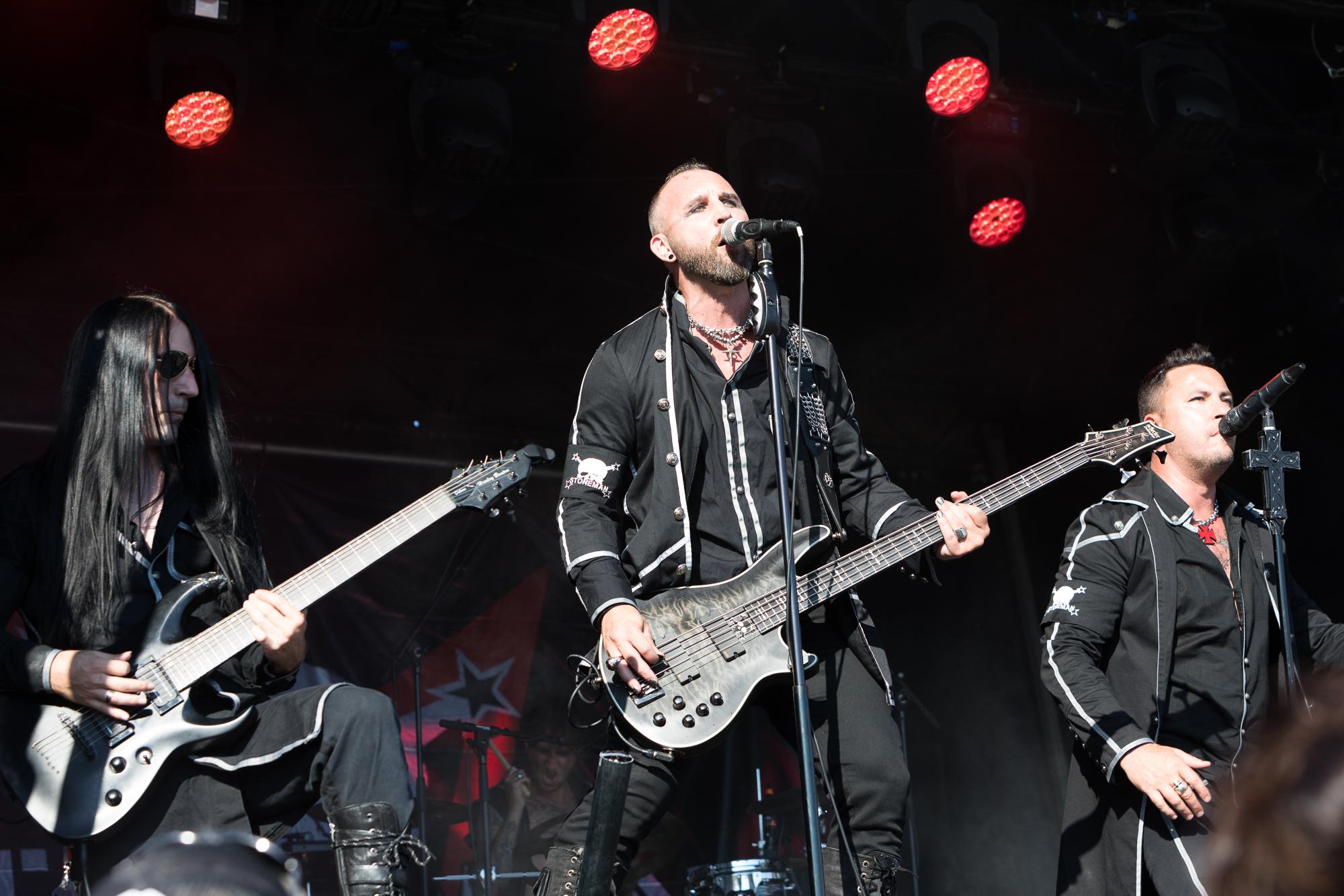 Stoneman, Rock The Ring, Hinwil, 20.06.2018(Bild: Michelle Brügger)