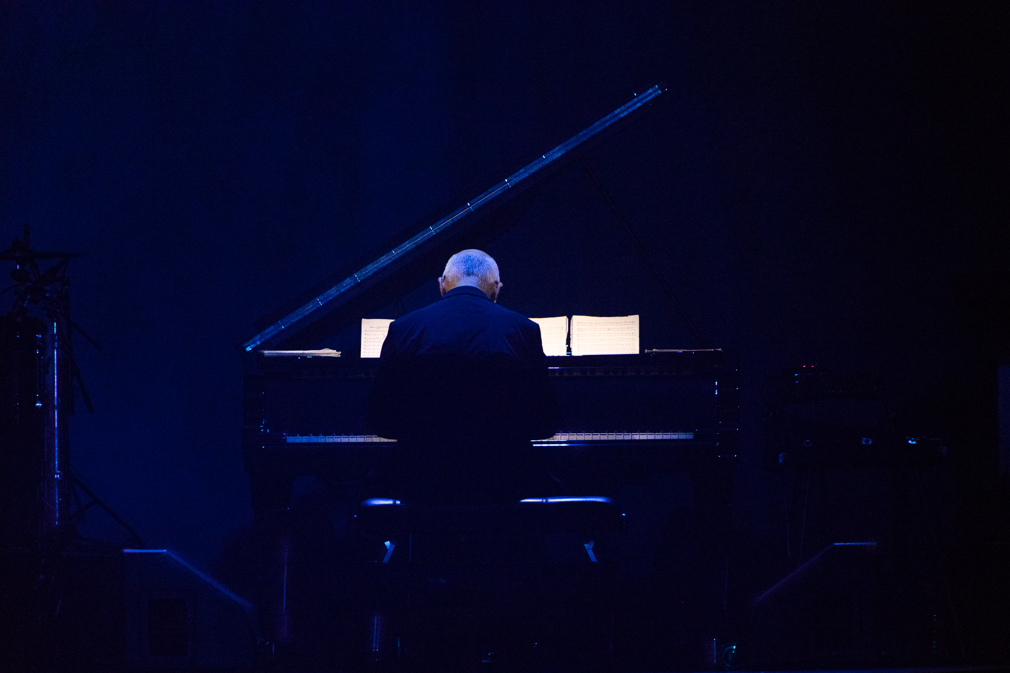 Ludovico Einaudi   Hallenstadion Zürich, 06.05.2018 (Bild: Michelle Brügger)
